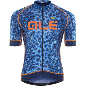 Alé Cycling Graphics PRR Agguato Short Sleeve Jersey Men blue-fluo orange